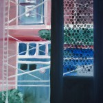 Exit. Etude. Oil on canvas. 30×24 cm.