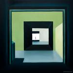 Passage. Oil on canvas, 100x100 cm