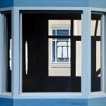Hidden Perspective. Oil on linen, 100x100 cm