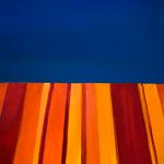 Blue-orange. Oil on canvas. 30×24 cm