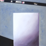 Grey surfaces. Oil on canvas. 30×24 cm