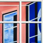 Inner World. Oil on canvas. 100×100 cm